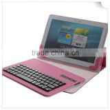 Dropship Tablet pu Cases with Wireless Leather Bluetooth Keyboard for 9 - 10 inch universal