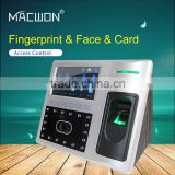 tcp/ip facial fingerprint recognition door access control system with GPRS WIFI function Optional
