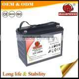 high quality 12V 140Ah dry charge Electric Three Wheeler battery ElectricTricycle battery