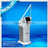 Face Whitening Co2 Fractional Laser Machine / Laser Freckle Skin Resurfacing 100um-2000um Removal Permanent / Fractional Co2 Laser Acne Scar Removal Birth Mark Removal