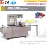 Commerical Dvd Case Cellophane Packaging Machine with Factory Price
