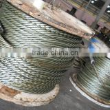 7x7 Galvanized/Stainless Steel Wire Rope for Crane