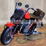 Highly detailed antique motorcycle model for home decoration