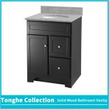 Espresso Shaker Style Solid Wood Bathroom Vanity Unit With Granite Top
