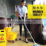 Variform Wringer Trolley/ Side-press Double Mop Wringer Trolley/Down-press Double Mop Wringer Trolley with good price
