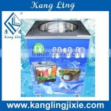 Single Round Pan Fry Ice Cream Machine for Commercial Use