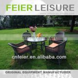 A6001CH Outdoor Rattan Furniture Outdoor Cabinets Dining Set