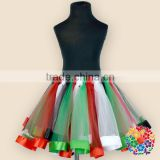 Wholesale Colorful Tulle Beautiful Tutu Skirt For Baby Girls Kids Tutu Skirts Factory Directly Sale Children Tutu Rainbow
