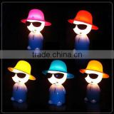 Cool boy smoking table lamp,money box LS Eplus