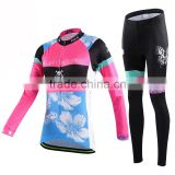Cycling jersey for girl or custom cycling clothing and women bicycle jersey