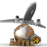 Fast door too door express courier international service from shenzhen city