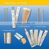 Sterilization Self-sealing Pouch Package Wooden TONGUE DEPRESSOR Disposable