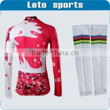 China custom arm sleeves revenue arm warmers cycling shorts jersey sale design your own cycling jersey
