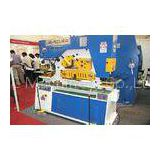 Customized iron worker machine angel steel rod cutting & punching lathe