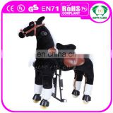 HI CE standard life size mechanical kids swing spring jumping horse toys