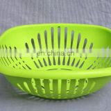 New plastic fruit basket,plastic food basket,orange plastic basket