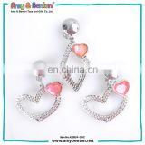 New Fashion Hot sale children jewelry clip earring from China factory