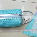 Blue PVC travel cosmetic bag