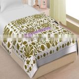 uzani bed cover Bedspread Cotton Bed Sheet Wall Hanging Throw Twin Size set