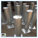 Security In Ground Hot Dipped Galvanized Steel Guards