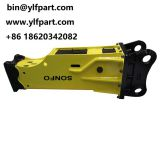 Sonfo silence type hydraulic hammer rock breakers for excavator CLG230,CLG923,CLG925