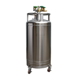 facial at Active Clinics liquid nitrogen filling machine self-pressurized tank