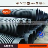 municipal project use 600mm s8 hdpe culvert pipe for storm sewrage
