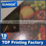One way vision film for windows,perforated vinyl film D-0122                                                                         Quality Choice