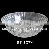 Promotional Popular Beautiful Clear Round Glass Smoking Bowls Made In China for Wholesale