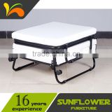Rollaway Folding Bed for Hotel Extra Ottoman Cum Bed                                                                         Quality Choice