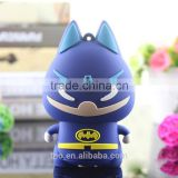 PVC batman power bank charger 5200mah mobile phone charger