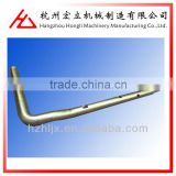 OEM ISO 9001 custom cnc pvc coated curved wear resistant stainless steel pipe manufacturer