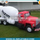 HOT sale! New Design giant inflatable mixer truck,inflatable replicas truck for Advertising