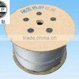 GB/T20118-2006 standard hot dip galvanized steel wire rope 4x31SW+FC-8.3mm application for suspended cradles platform