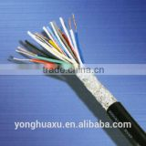 300/500V multicores copper conductor PVC insulated and sheathed 8X6mm2 KVV control cables for instruments