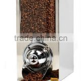 Coffee Silo/Coffee Bean Silos/Rectangular Coffee Bean Dispensers/Bulk Food Dispensers/Chrome Dispenser for Coffee Beans KBN40