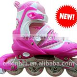 2015 hot sale retractable roller inline skate shoes for kids and adult
