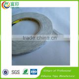 White film 3M Double side Non woven Fabric masking Tape with professional manufacturer