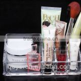 elegance acrylic cosmetic display stands in supermaket