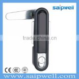SAIPWELL 2014 Newest Industrial Waterproof Panel Flat Door Lock with Push-Button Cylinder                                                                         Quality Choice