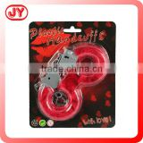 High quality handcuffs police plastic handcuffs toy for fun suitable for up age 3 with EN71