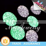 Hot Selling Printed Abstract Pattern Glow In The Dark Discount Costume Jewelry for Distributors