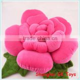 Plush Flower Shaped Pillow