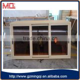 Aluminum sliding reflective glass mirror glass window                                                                                                         Supplier's Choice