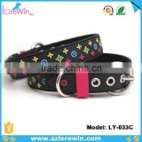 New HOT Selling PVC leather Dog Collar And Leash Dog Neck Collar                                                                         Quality Choice