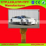 Factory supply 800x480 7 inch color graphic lcd module