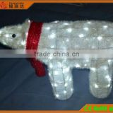 High:55CM 100LED 3d acrylic motif bear with light