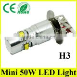 Low price LED 6500k cool white H3 hid xenon light