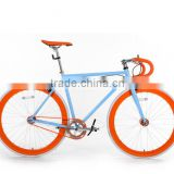 700C colorful fixie fixed gear bike single speed mixed color fixie gear bikes KB-700C-M16041