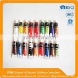 Wholesale acrylic paint set 18pcs 12ml in various colors